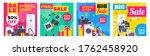 super sale electronics... | Shutterstock .eps vector #1762458920