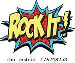 god almighty | Shutterstock .eps vector #176248253