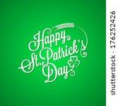 Patrick Day Vintage Lettering...