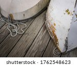Abstract Shapes And Texture Of...