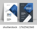 corporate book cover design... | Shutterstock .eps vector #1762562360