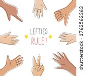 Lefties Rule Concept Banner....