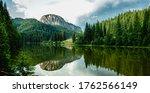 Summer Scenery Of Mountain Lak...