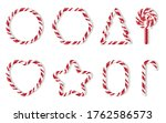 christmas candies with... | Shutterstock .eps vector #1762586573