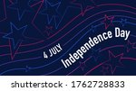 4th july american independence...   Shutterstock .eps vector #1762728833