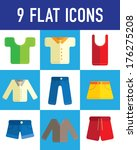 clothing flat icon