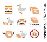 foie gras  duck or goose... | Shutterstock .eps vector #1762776686