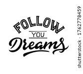 vector lettering illustration... | Shutterstock .eps vector #1762778459