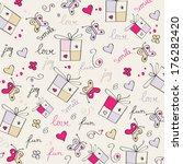 hand draw texture | Shutterstock .eps vector #176282420