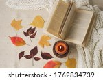 Autumn Decor. Read  Rest. Cozy...