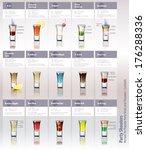 vector recipes for popular... | Shutterstock .eps vector #176288336