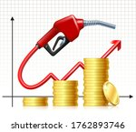fuel handle pump nozzle with... | Shutterstock .eps vector #1762893746
