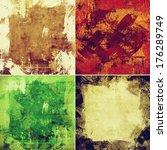 grunge background | Shutterstock . vector #176289749