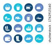 accessory icon set and picnic...