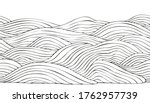 ocean waves horizontal seamless ... | Shutterstock .eps vector #1762957739