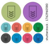military insignia with three... | Shutterstock .eps vector #1762960580