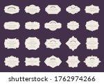 retro elegant labels. vintage... | Shutterstock . vector #1762974266