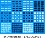 brush stroke set. grunge... | Shutterstock .eps vector #1763002496
