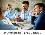 Group Of Healthcare Workers And ...