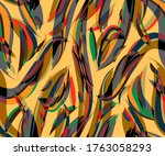 seamless repeating pattern ... | Shutterstock .eps vector #1763058293