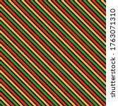 kwanzaa seamless pattern  ... | Shutterstock . vector #1763071310
