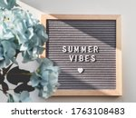 Letter Board With Words Summer...