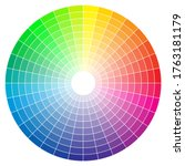color spectrum abstract wheel ...