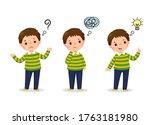 vector illustration of cartoon... | Shutterstock .eps vector #1763181980