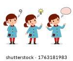vector illustration of cartoon... | Shutterstock .eps vector #1763181983