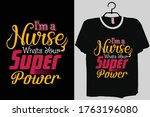 i am  a nurse  whats your... | Shutterstock .eps vector #1763196080
