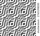continuous islamic vector wavy... | Shutterstock .eps vector #1763198030