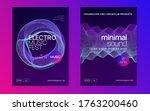 club flyer. commercial concert...   Shutterstock .eps vector #1763200460
