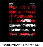 surf. hawaii.summer graphic...   Shutterstock .eps vector #1763254139