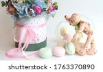 Bouquet Of Flowers  Jar With...