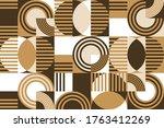 Modern Geometric Abstract...