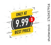 sale only at   9.99 dollars and ...   Shutterstock .eps vector #1763437916