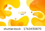 moving colorful abstract... | Shutterstock .eps vector #1763450870