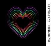 lgbt rainbow lgbt flag lgbt...   Shutterstock .eps vector #1763451659