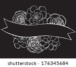 Chalkboard Flowers - Succulent and Buttercup