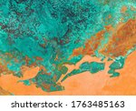 Copper Oxide Effect Texture And ...
