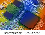 electronic circuit board close... | Shutterstock . vector #176352764