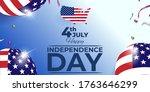 vector illustration for fourth... | Shutterstock .eps vector #1763646299