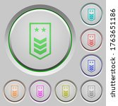 military insignia with three... | Shutterstock .eps vector #1763651186