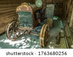 A 100 Year Old Antique Tractor...