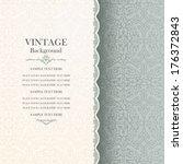 vintage background  antique... | Shutterstock .eps vector #176372843