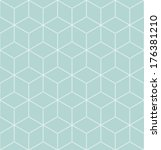 vector seamless pattern. modern ... | Shutterstock .eps vector #176381210