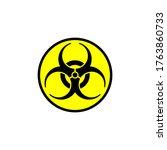biological hazards vector logo...   Shutterstock .eps vector #1763860733