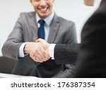 businesss and office concept  ... | Shutterstock . vector #176387354
