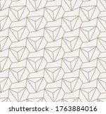 continuous tileable vector... | Shutterstock .eps vector #1763884016