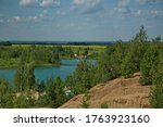 Forest Lake In The Romantsevsky ...